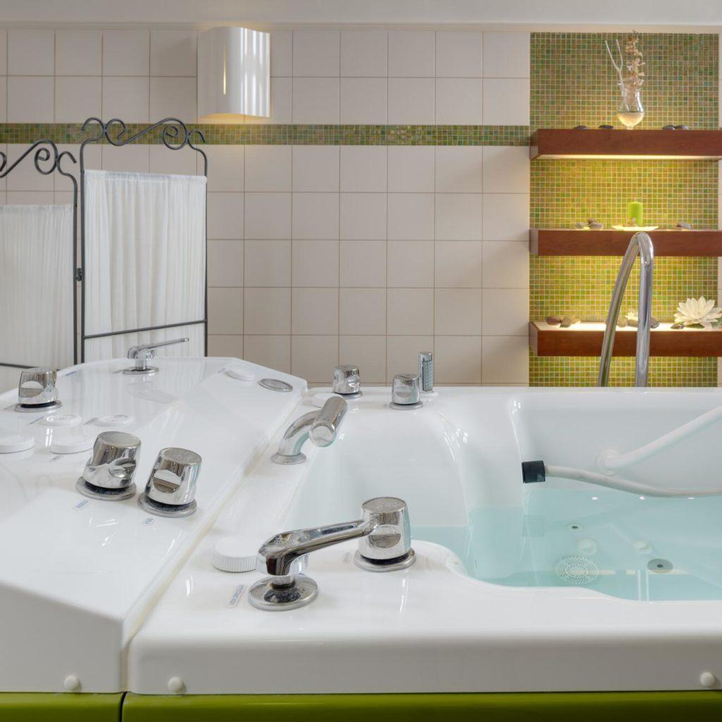 Kúpeľné procedúry v Piešťanoch
